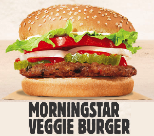 BK-veggie burger