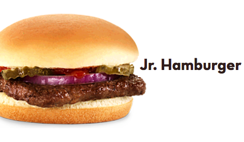 Wendys- Jr. Hamburger